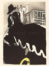 Henri Tolosa LAUTREC francese ultimo BALLATA vecchia Arte Dipinto Manifesto bb5655a