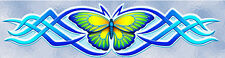 SALE - END OF STOCK - Butterfly Blue Vinyl Car Decal Stickers  - STF125CBLOLD