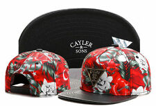 HOT Mens caps red Flower triangle adjustable Baseball HIP HOP Snapback Hats
