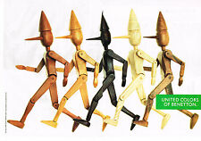 PUBLICITE ADVERTISING 064 1991  UNITED COLORS OF BENETTON   ( 2 pages)