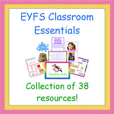 EYFS Classroom Essentials CD, Teaching / Display Resources, NQT, Early Years