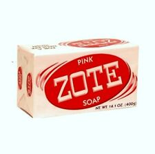 Zote Pink Laundry Soap 14 oz Bar (400g) Lot of 5 Jabon Prepper FRUGAL DIY