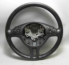 BMW E46 3-Series Factory Sports Multifunction Steering Wheel 3 Spoke 2000-2006