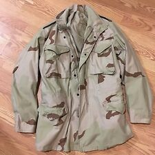BDU Desert Camo Cold Weather Field Coat Jacket SMALL LONG Military Issue