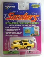 Viper GTS Yellow W/ Black Stripe 1996 Playing Mantis Sizzlers Race Car New