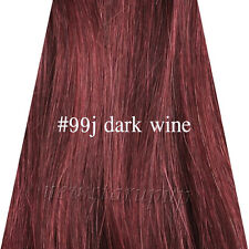 """Five Clips in Onepiece 100% Real Human Hair Extensions 16""""-26"""" High Quality"""
