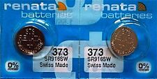 373 RENATA SR916SW SR68 (2 piece) V373 D373 GP313 Battery Authorized Seller