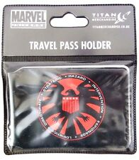 Marvel Comics Avengers Agents Of Shield Badge ID Travel Pass Holder NWT