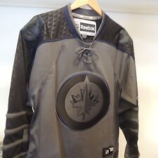 NHL REEBOK Winnipeg Jets Crosscheck Hockey Jersey New MEDIUM