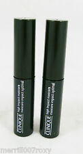 CLINIQUE high impact mascara black (01) 3.5ml x 2 7ml TOTAL GWP