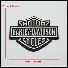 Part For Harley Davidson Large Shield Plastic Chrome Emblem/Badge 95% Condition