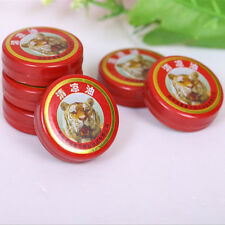 2X QingLiangYou Balm oil tiger For Headaches Carsickness Itching Relief 3g