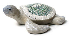 "6"" Sea Turtle with Mosaic Design Decorative Figurine HFB-179"