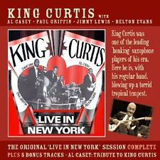 KING CURTIS - LIVE IN NEW YORK  CD NEU