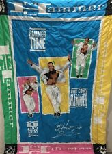 RARE Vintage 1991 MC Hammer Can't Touch This Hammer Time Blanket Comforter