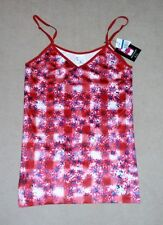 Energie Love Me Twice reversible Jrs XL red, white, & blue camisole top, NWT