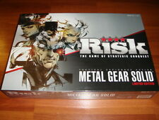 Metal Gear Solid Risk Limited Edition #159 New Sealed ESPIONAGE SPY SNAKE KONAMI