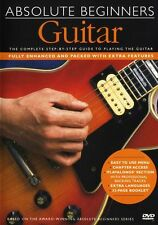 Absolute Beginners Guitar Music Lesson Tutor Book DVD