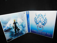 Custom Made Final Fantasy Advent Children Trading Card  Binder Graphics Only