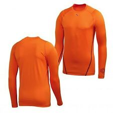 New Rare Puma Men's Monoline Long Sleeve Vibrant Orange Tee Size XL