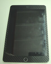 3M 3D Black Carbon Fibre for iPad mini Front Skin sticker ( Front Only )