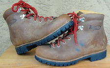 Womens Italian VASQUE Sz 7.5 C 7516 Hiking Mountaineering Boots Vagabond Look