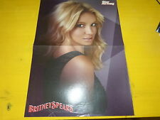 BRITNEY SPEARS - Poster !!! 2P !!! Au verso : ALICE & MICKELS - STAR ACADEMY !!!
