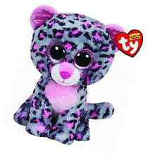 Ty 9in Tasha Leopard Cat Beanie Boo Buddy Collectable Kids' Soft Plush Toy
