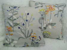 "WILLOWBROOK BY JANE CHURCHILL 1 PAIR OF 18"" CUSHION COVERS - DOUBLE SIDED!"