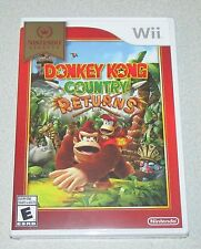 Donkey Kong Country Returns for Nintendo Wii Brand New! Factory Sealed!