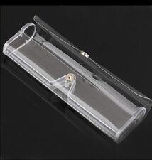 Clear Rimless Reading Glasses Case Bag Plastic box New