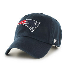 New England Patriots 47 Brand NFL Strapback Adjustable Navy Dad Cap Hat Clean Up