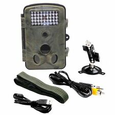 RD1000 1080P 12MP Jagd Trail Wildkamera Kamera Fotofalle Wildwechsel LED IR