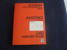 AYRES Jn. MATRICI - collana SCHAUM - ETAS - 1979