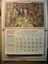 WINCHESTER    Deer  Camp Calander   Very Good Plus Condition