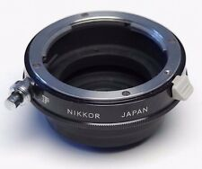 Nikon Nikkor E2 Nikon F to C Mount Adapter- arri blackmagic bolex d16 panasonic