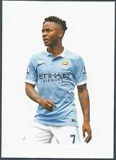 TOPPS 2016 PREMIER LEAGUE #192-MANCHESTER CITY-RAHEEM STERLING