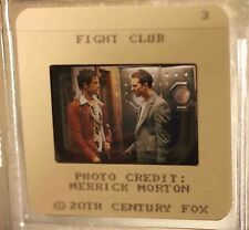Fight Club press kit B&W photo & color negatives! Brad Pitt & Edward Norton