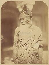 Felice Beato Sikh Akali Indian 19th C British Empire Photo Reprint 7x5 Inch