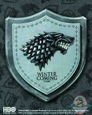 Game of Thrones Stark House Crest Wall Plaque Museum Replica