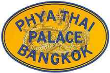 Phya Thai Luggage Label A4 Photo Print