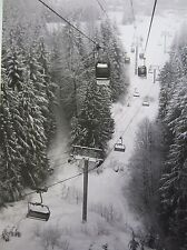 "Fine Art Photography, Black and White Print ""Whistler Winter"" BC Canada"