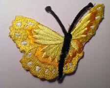 Embroidered Butterfly Iron On Applique