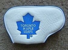 Toronto Maple Leafs NHL Licensed Blade Putter Golf Club Head Cover Embroidered