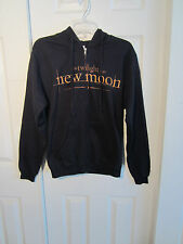 THE TWILIGHT SAGA NEW MOON BLACK HOODIE SIZE SMALL