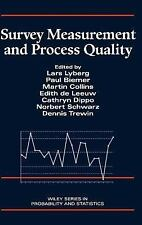 Wiley Series in Probability and Statistics: Survey Measurement and Process...