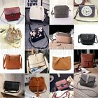 Womens Ladies Handbag Leather Shoulder Bag Tote Satchel Messenger Bag Cross Body