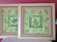 Paragon Picture Gallery Wooden HANDMADE Frame Painting Set of 2  By TURNER $280