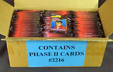 Lot of (216) - 1993 The River Group Elvis Presley Series 2 Trading Card Packs