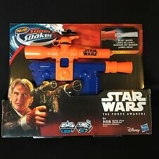 NERF Star Wars Super Soaker E7 Han Solo Blaster New Toy Sale Was 21.99 Hasbro